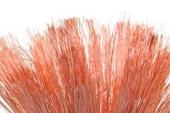Concept des câblages cuivre d'industrie énergétique Image stock