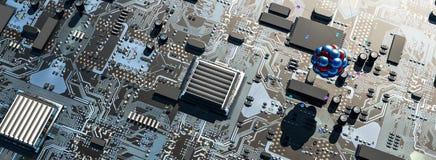 concept des circuits photographie stock libre de droits
