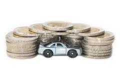 Concept des dépenses ou d'assurance de voiture Photos stock