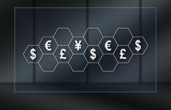 Concept des devises illustration libre de droits