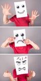 Concept des expressions photos libres de droits