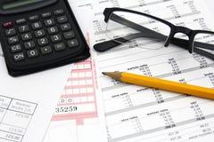Concept des factures de paiement photographie stock