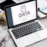 Concept des informations sur les données de fichier document photo stock
