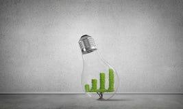 Concept des innovations efficaces de vente images libres de droits