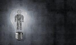 Concept des innovations efficaces pour l'humanité Photos libres de droits
