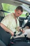 Concept des règles de sécurité routière Images libres de droits