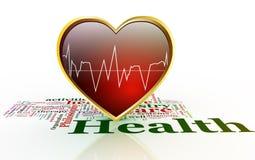 Concept des soins de santé. illustration stock
