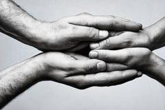 Concept des soins, tendresse, protection Photo libre de droits