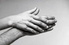 Concept des soins, tendresse, protection Image stock