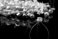 Concept des transistors Photos libres de droits