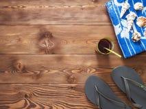 Concept des vacances d'été et des vacances Photographie stock