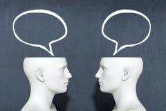 Concept of dialogue Stock Photo