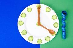 Concept of dietary nutrition, healthy lifestyle, vegetarian menu. Studio Photo royalty free stock photos