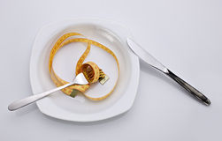 Concept of dieting  food Royalty Free Stock Image