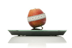 Concept of dieting and healthy eating Stock Image