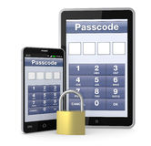 Concept of digital security Stock Image