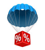 Concept of discount Royalty Free Stock Images
