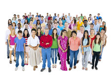 Concept divers d'unité de nationalité d'appartenance ethnique de diversité Image libre de droits