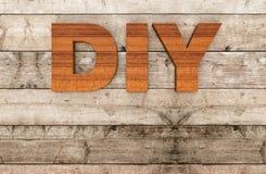 Concept of diy Stock Photo