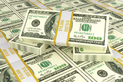 Concept of dollars for business and trade Stock Images
