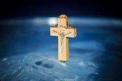 Concept doopsel en reiniging in de Christelijke godsdienst, c royalty-vrije stock foto's