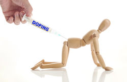 Concept of doping use Stock Photography