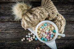 concept doux et confortable d'hiver Photographie stock libre de droits