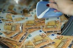 Concept du blanchissage d'argent images libres de droits
