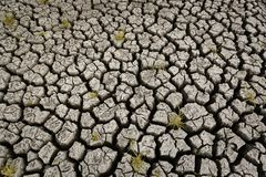 Concept du climat global, chaud et sec, climat de changement, terre pour les cultures éternelles photographie stock libre de droits
