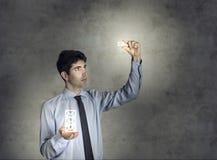 Concept du commerce en ligne moderne Images stock