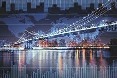 Concept du commerce et d'économie photos stock