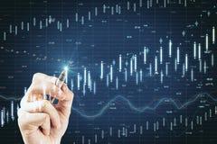 Concept du commerce et d'économie photo stock