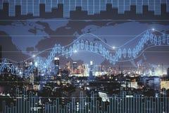 Concept du commerce et d'investissement illustration libre de droits