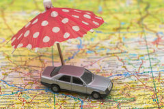 Concept du déplacement ou de prendre des vacances Photo libre de droits