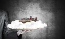 Concept du développement urbain moderne Photo libre de droits