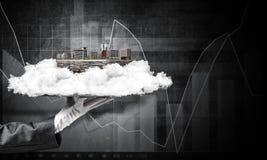 Concept du développement urbain moderne photographie stock