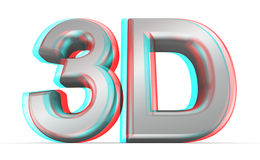 concept du film 3D. Images stock
