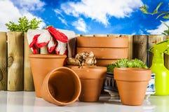 Concept du jardinage, thème de nature Photo libre de droits