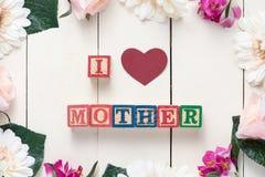 Concept du jour de mère Images libres de droits