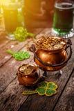 Concept du jour de St Patrick heureux
