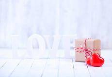 Concept du jour de Valentine Photos libres de droits