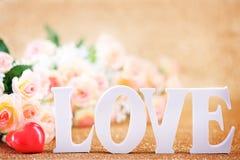 Concept du jour de Valentine Photographie stock libre de droits