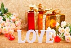 Concept du jour de Valentine Photo libre de droits