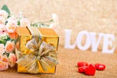 Concept du jour de Valentine Photographie stock