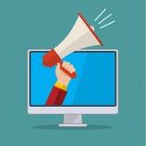 Concept du marketing numérique Photos stock