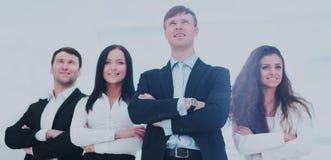 Concept du meneur d'équipe et des affaires professionnelles réussies Images libres de droits