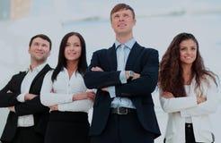 Concept du meneur d'équipe et des affaires professionnelles réussies Photos libres de droits