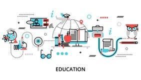 Concept du processus d'éducation Image stock