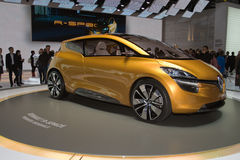 Concept du R-Espace de Renault - Salon de l'Automobile de Genève 2011 Photos stock