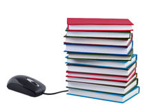 Concept of e-books and educational. Stock Photography